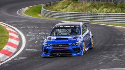 """Subaru с най-бързия седан на """"Нюрбургринг"""""""