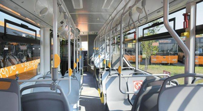 Нови еко автобуси тръгват в София