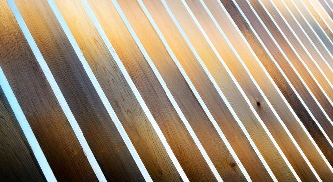 15+ идеи как да използваме дървени панели у дома