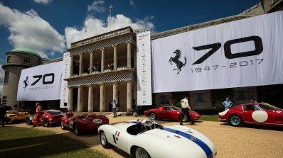 Ferrari подготвя 70 класики за Конкурса за елегантност в Пебъл Бийч