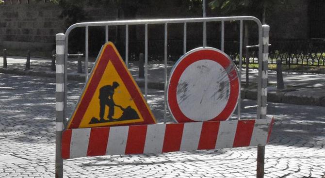 """Временна организация на движението заради ремонт на бул. """"Асен Йорданов"""""""