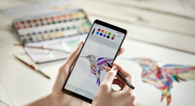 Нов начин за комуникация със S Pen и Galaxy Note8