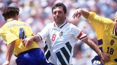 Йохансон: Стоичков ми се извини за клеветите след Швеция - България