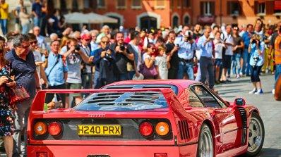 Тридневен празник за тифозите на Ferrari (снимки+видео)