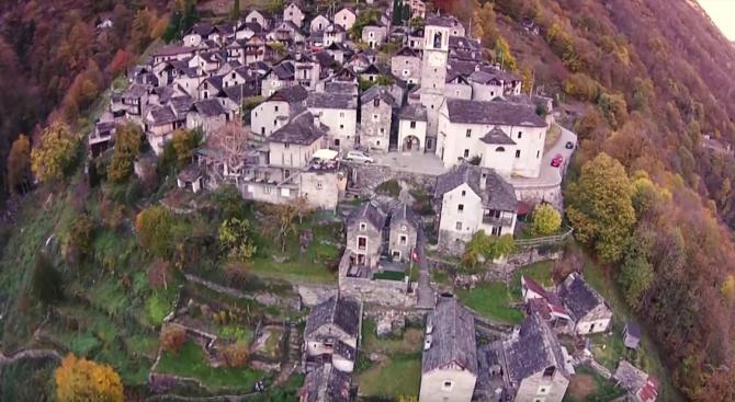 Най-малкото село в Швейцария става хотел