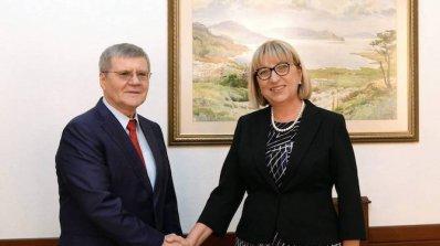 Цецка Цачева се срещна с генералния прокурор на Руската федерация Юрий Чайка (снимки)