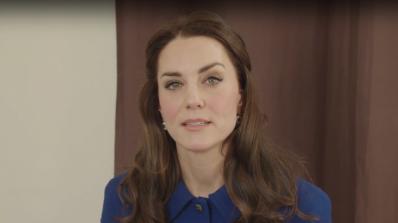 Кейт Мидълтън с видеообръщение относно кампания за психично здраве (видео)
