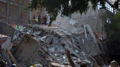 Властите в Мексико обявиха извънредно положение в пострадал от земетресението южен щат