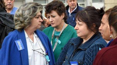 """Протестиращи лекари от """"Пирогов"""": Уволненията са прибързани (снимки+видео)"""