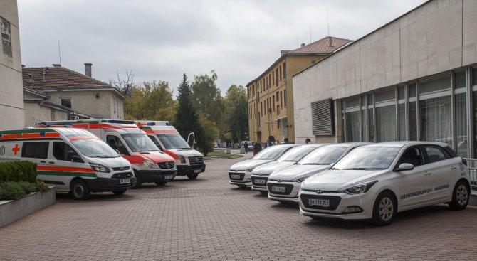 ВМА с нови линейки и регистратура (видео+снимки)
