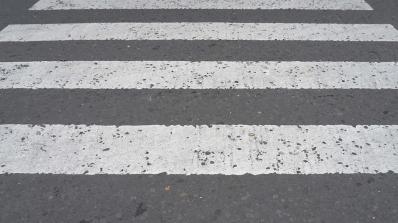Жена  загина след удар от микробус на пешеходна пътека