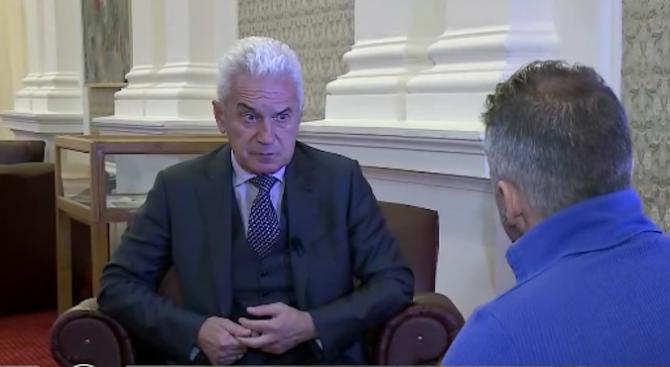 Волен Сидеров: Моят съвет към ДПС е по-леко с демонтажните работи