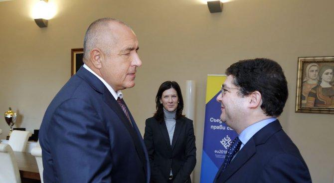 Борисов се срещна с вицепрезидента на ЕБВР (снимки)