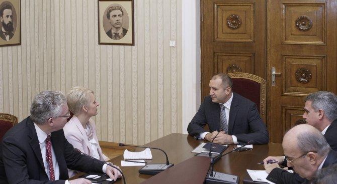 Румен Радев: Партньорството между България и Великобритания ще се развива и след Брекзит (снимки)