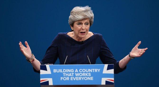 Тереза Мей: Великобритания ще защитава Европа от руски заплахи