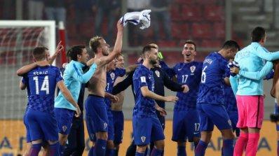 Хърватите празнуват наравно с шведите - евентуалните урни за жребия