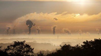 Интерактивна карта показва замърсяването на въздуха в Европа (видео+снимка)