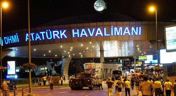 """Извънредна ситуация на летище """"Ататюрк"""" в Истанбул"""