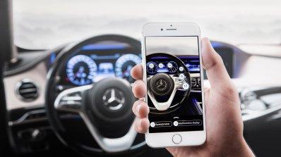 Mercedes ще ти изпрати съобщение, ако някой ти удари колата на паркинга (видео)
