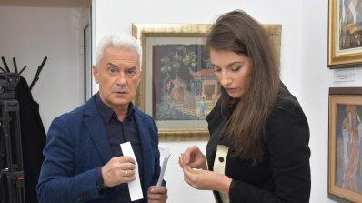 Волен Сидеров откри своя галерия в центъра на София (снимки)