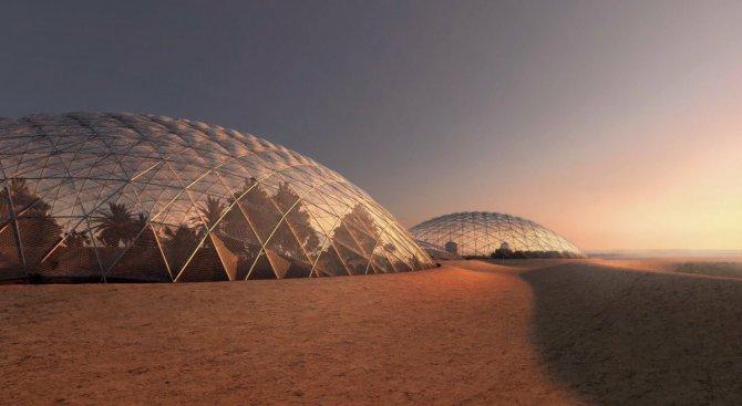 В Дубай строят имитация на марсиански град (видео)