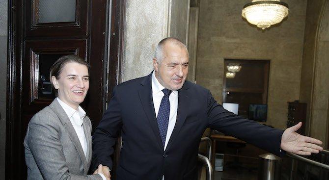 Борисов: Инфраструктурните проекти между България и Сърбия ще спомогнат за свързаността на целия рег