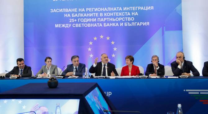 Борисов: Трябва да убедим ЕС, че Балканите не носят проблеми, а просперитет (видео+снимки)
