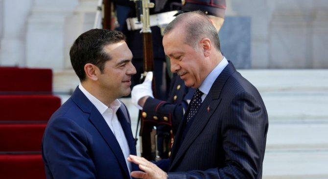 Ердоган даде за пример на Ципрас разбирателството с Борисов