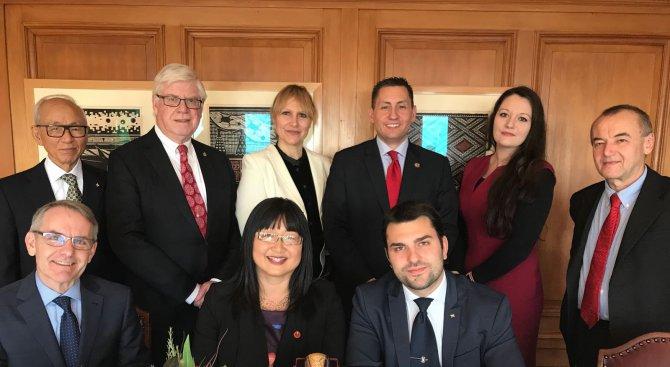 Георг Георгиев: Парламентарното сътрудничество между България и Канада е от съществено значение за д