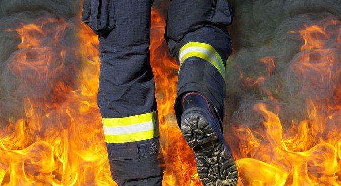 Голям пожар бушува в Калифорния
