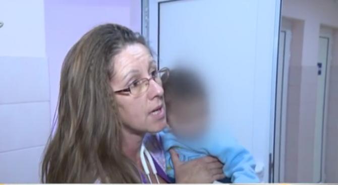 Изоставеното бебе от Перник ще бъде настанено в приемно семейство (видео)