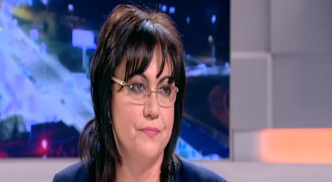 Корнелия Нинова: БСП няма да има отстъпление от вота на недоверие