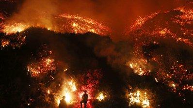Над 200 000 евакуирани в Калифорния заради големите горски пожари