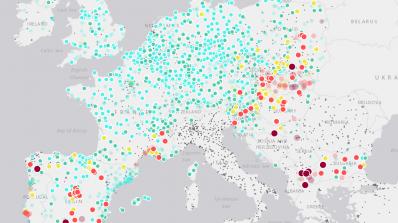 Нов интернет портал показва в реално време колко е мръсен въздухът
