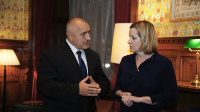 Борисов се срещна с британския държавен секретар на вътрешните работи Амбър Ръд (снимки)