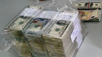 """Спипаха контрабандна валута на """"Капитан Андреево"""" (снимка)"""