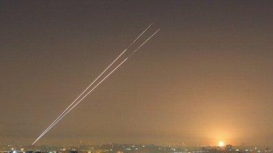 Израел бомбардира шест цели на Хамас в Газа