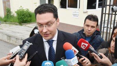 Отложиха първото разпоредително дело срещу Даниел Митов (видео)