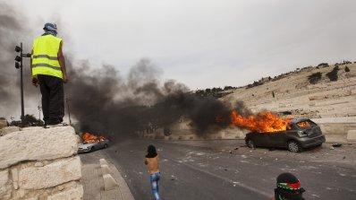 Пореден ден на сблъсъци в Ивицата Газа и Западния бряг