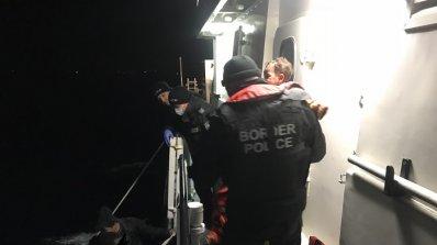 """Приключи участието на граничен полицейски кораб в операцията """"Посейдон"""""""