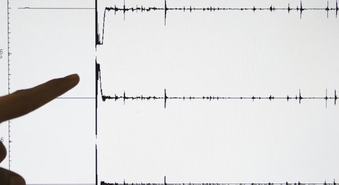 Земетресение люшна Западна Гърция