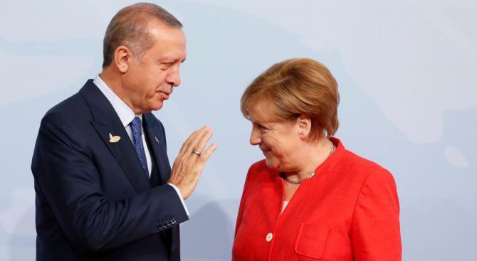 Ердоган иска лична среща с Меркел