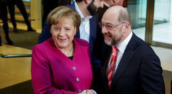 Пробив в преговорите за съставяне на коалиция в Германия
