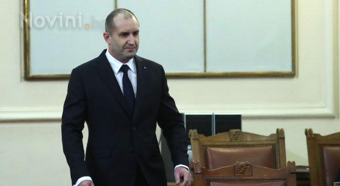Румен Радев: Няма политическа воля за реална борба с корупцията