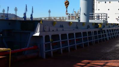 Украински моряци излязоха на протест във Варна заради неизплатени заплати