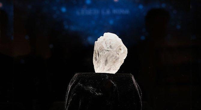 В Лесото откриха 910-каратов диамант