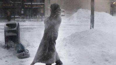 Зимна буря създаде тежка пътна обстановка в южните райони на САЩ (снимки)