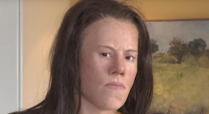 Реконструираха лицето на момиче, живяло преди 9000 години (видео)
