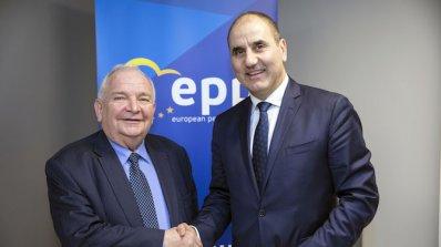Цветан Цветанов се срещна с председателя на ЕНП Жозеф Дол (снимки)