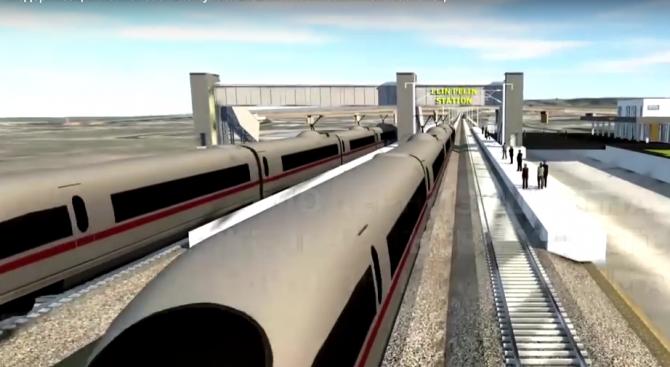 ЕК отпусна 451 млн. евро за модернизацията на жп линията от Елин Пелин до Костенец (видео)
